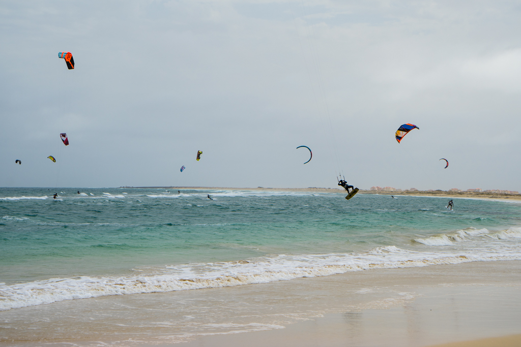 Kap Verden, Kite Beach