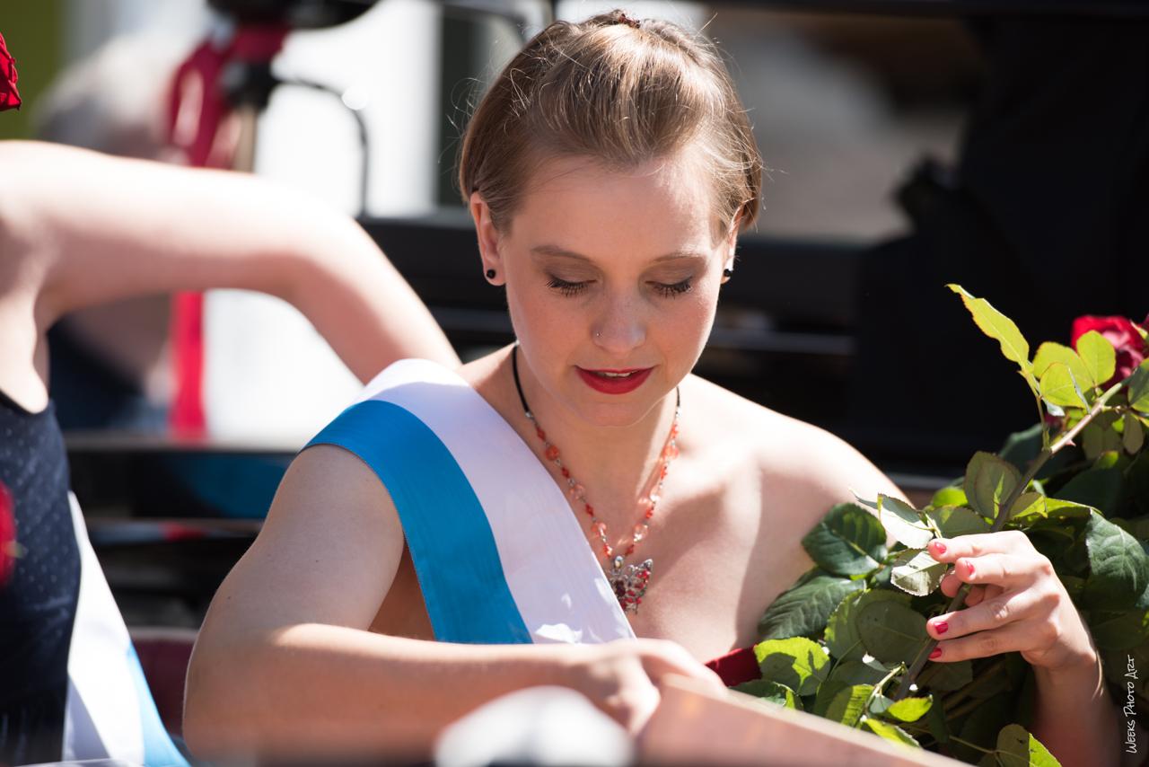 Rosenkönigin 2016 Weggis