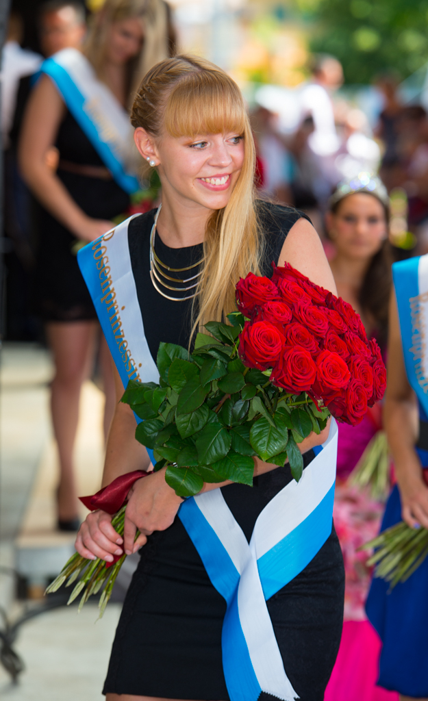 Rosenkönigin Weggis 2014